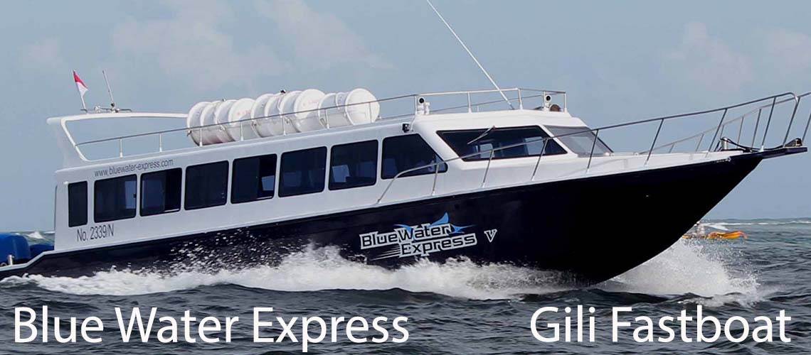 blue water express gili fastboat